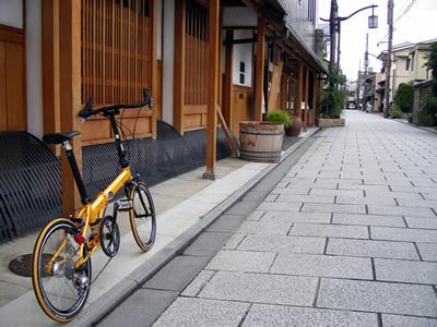 浄福寺通のDAHON(ダホン) SPEED PRO TT