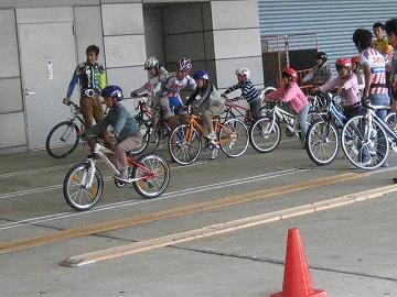 サイクルモード2008キッズエリア