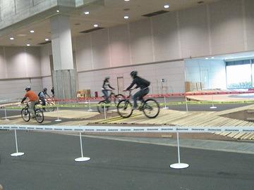 サイクルモード2008試乗コース