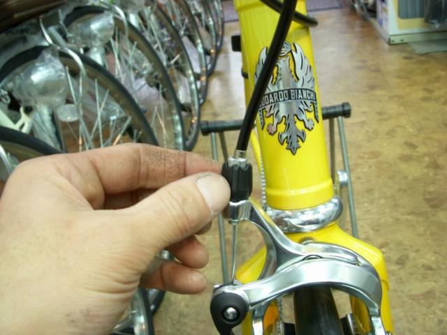 自転車の 自転車 調整 ブレーキ : 自転車メンテナンス>ブレーキ ...