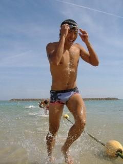 宮古島や石垣島でのトレーニング風景