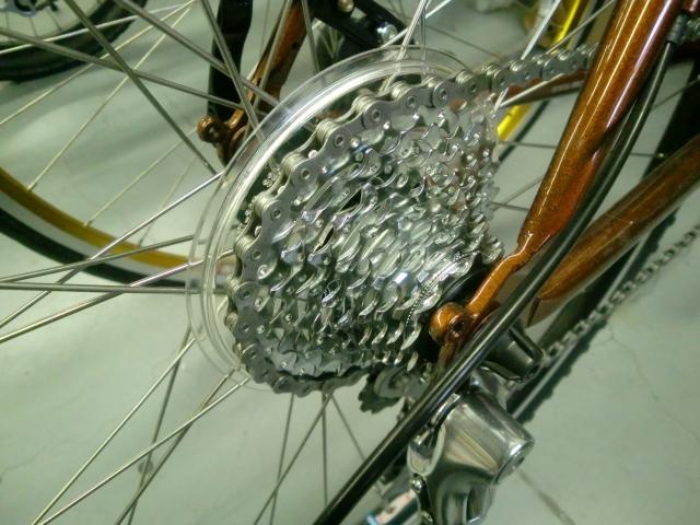 自転車の 自転車の構造 : ロード用スプロケット(9段)