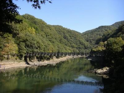 天ヶ瀬ダム近辺
