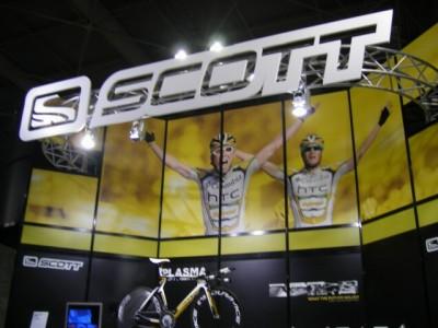 SCOTT(スコット)ブース in サイクルモード2009大阪