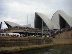 トライアスロン WCSシドニー大会会場の様子