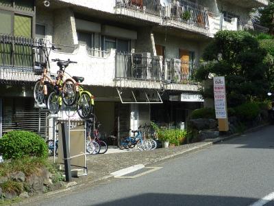 レンタサイクル京都スパイラル全景