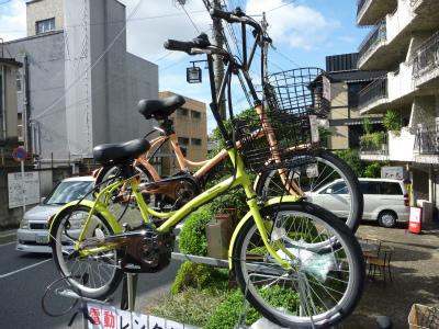 京都スパイラルのレンタル車「Panasonicシュガードロップ」
