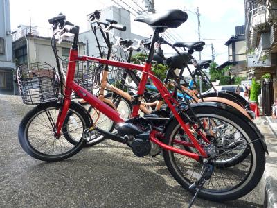 京都スパイラルのレンタル車「Panasonicリトルビー」