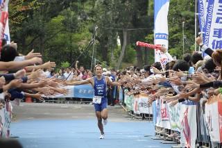 2010年トライアスロン日本選手権大会・ゴール