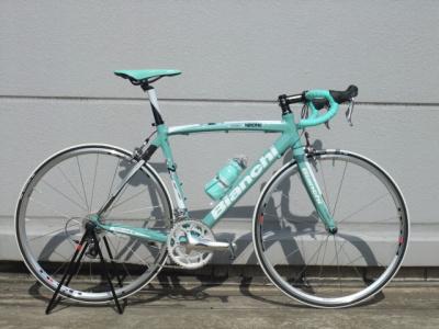 Bianchi(ビアンキ) 2011年モデル C2C Via Nirone 7 Alu Carbon Shimano 105(ヴィアニローネ7 アルカーボン シマノ105) Celeste 55