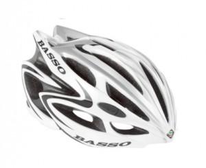 BASSO (バッソ) HELMET (ヘルメット) White/Silver