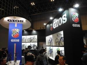 サイクルモード2013 Gios(ジオス)ブース