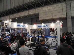 サイクルモード2013 KOGA(コガ)ブース