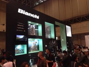 サイクルモード2013 Bianchi(ビアンキ)ブース