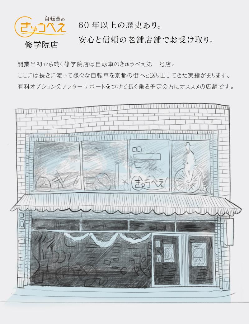 自転車 店頭受け取り 京都