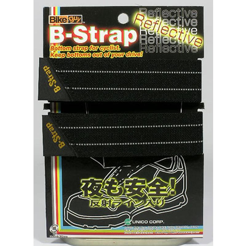 ba4a9ec402 BikeGuy バイクガイ B-Strap Reflective B-ストラップ リフレクティブ (2本セット)