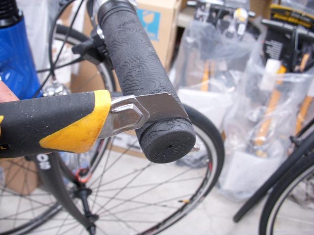自転車の 自転車 グリップ : グリップ交換・バーエンドバー ...