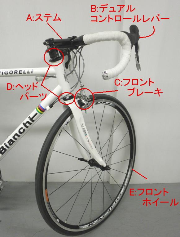 自転車の各部・パーツなどの名称   Buying Guide(パーツ・ウェア ...