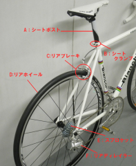 自転車各部の名称(その3)