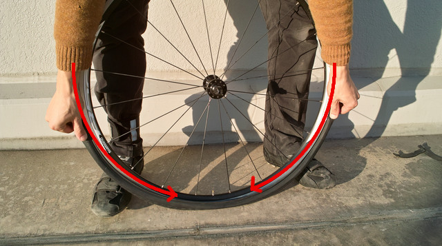 自転車のタイヤ着脱 | Tires&Wheels ...