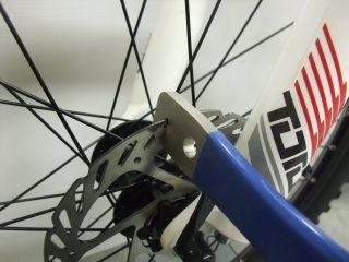 ローターの修正