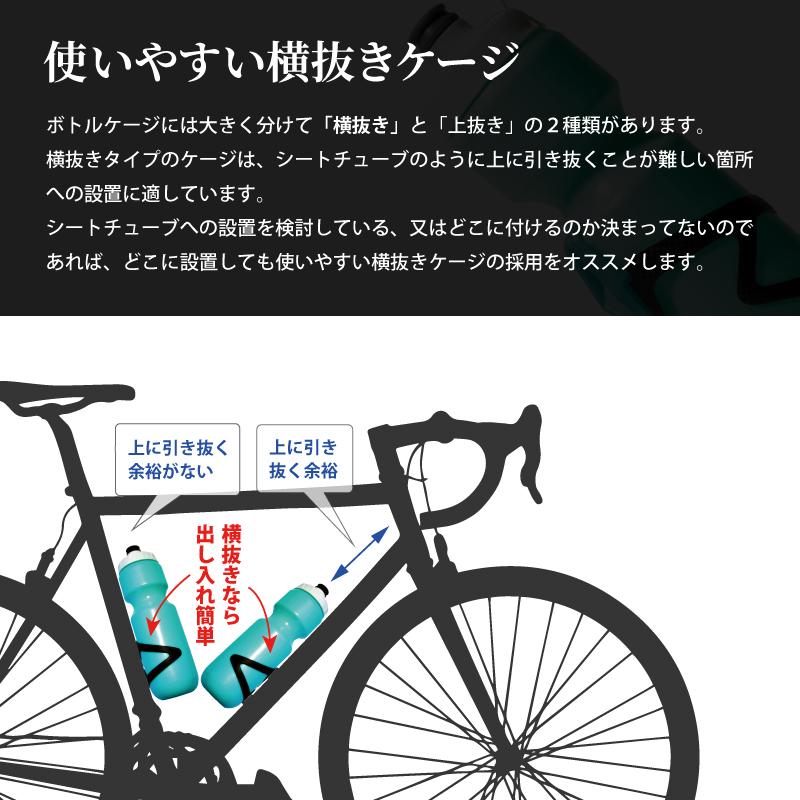 ボトル ケージ バイク ロード